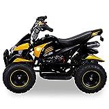 Miniquad Kinder Cobra ATV gelb / schwarz - 2