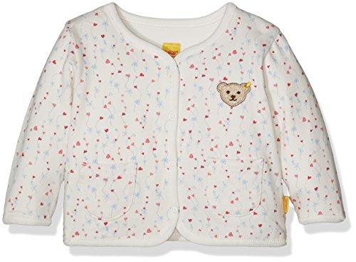 Steiff Baby-Mädchen Sweatshirt Sweatjacke 1/1 Arm zum Wenden, Mehrfarbig (Allover 0003), 62