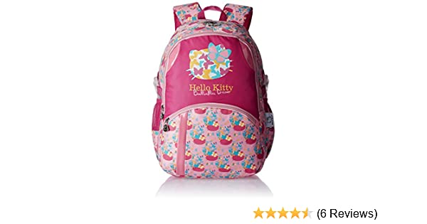 Hello Kitty Nylon 43 cms Pink Children s Backpack (Age group  6-8 yrs)   Amazon.in  Bags 676161dc26a18