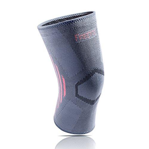 FREETOO Kompression Kniebandage elastische und nahtlose kniestütze power knie sleeve liefert basierten Schutz geeignet für Joggen Wander Radfahren und Ballsport