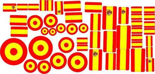 Oedim Pegatina Lote Banderas España 30 x 15 cm |