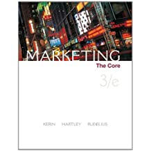 Marketing: The Core by Roger Kerin (2008-11-06)