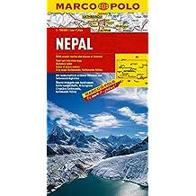 Carte Marco Polo - Nepal