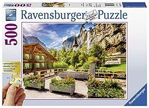 Ravensburger Puzzle para Adultos 13712Ravensburger 13712de Subir Brunnen de Adultos Puzzle
