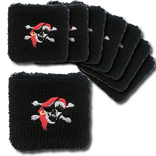 Pirat - Mitgebsel Kindergeburtstag Partygeschenk Piratenparty (Piraten Armbänder)
