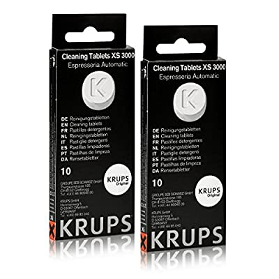Krups XS 3000 Cleaning Tablets for Espresseria Automatic