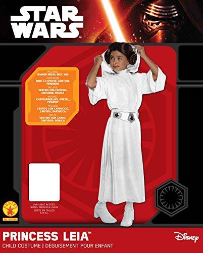 Imagen de princesa leia  deluxe  star wars the force despierta  niños disfraz  medium  132cm alternativa