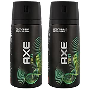Axe Déodorant Homme Spray Twist 150ml - Lot de 2