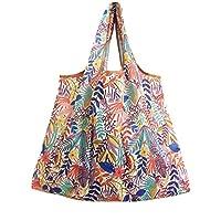 Carolilly Mini Maxi Shopper Shopping Bag Reusable and Foldable Strong 58 x 68 cm 6