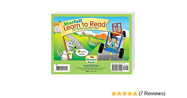 Starfall Learn To Read 15 Phonics Books Amazoncouk Starfall