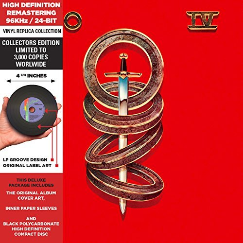 Toto 8 (Toto IV - Cardboard Sleeve - High-Definition CD Deluxe Vinyl Replica by Toto (2014-07-08))