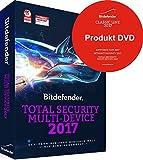 Bitdefender Total Security Multi-Device 2017 / 5 Geräte / 1 Jahr DVD (Windows, MAC & Android)