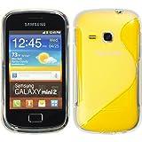 6d6d1ec4932 PhoneNatic Funda de silicona para Samsung Galaxy Mini 2 - S-Style  transparente - Cover