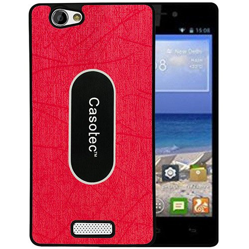 Casotec Metal Back TPU Back Case Cover for Gionee M2 - Red  available at amazon for Rs.149