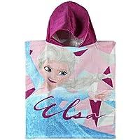 Poncho toalla Frozen Disney Elsa Ana algodon