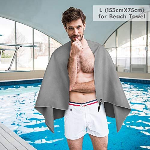 Zoom IMG-3 relefree asciugamano in microfibra 2