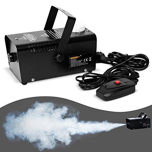 Nebelmaschine mit Fernbedienung für Party - Nebel Rauch Smoke Fog (Nebelmaschinen)