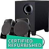 (CERTIFIED REFURBISHED) Creative SBS A-120 2.1 Channel Multimedia Speaker System (Black)