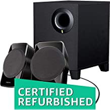 (CERTIFIED REFURBISHED) Creative SBS A-120 2.1 Channel Multimedia Speaker System (Black)