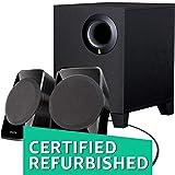 #9: (CERTIFIED REFURBISHED) Creative SBS A-120 2.1 Channel Multimedia Speaker System (Black)