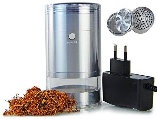 Qualitativer elektrischer POWER Tabakschredder Shredder für Kräuter oder Tabakblätter (Tabak-elektrische Pfeife)