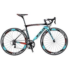 SAVADECK Rennrad, Warwind3.0 700C Carbon Rahmen Fahrrad mit Shimano SORA...