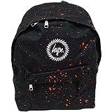 Hype Backpack Bags Rucksack | School Bag | Black Red Speckle