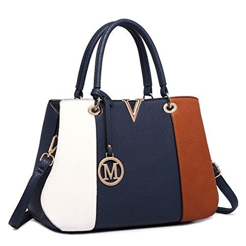 Miss Lulu , Damen Tote-Tasche 1701 Brown