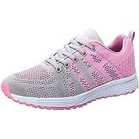 Zapatos deportes de malla breathable mujer,Sonnena Mujeres corriendo zapatillas Zapatillas de deporte ligeras de gimnasio Casual Yoga Sneakers Zapatos