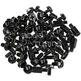 Phobya - Kit Vis pour Fixation Carte-Mere - Noir - 50 Pieces