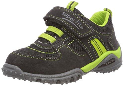Superfit Jungen SPORT4 Mini Sneaker, Grau (Grau/Grün 20), 33 EU