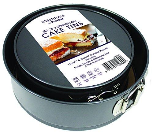 """Everyday Baking, Juego de 2 Moldes Redondos con Base Extraíble para Horno, 18cm/7"""" y 20cm/8"""""""