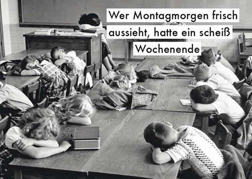 Postkarte A6 +++ LUSTIG von modern times +++ SCHEISS WOCHENENDE +++ ALLERHAND © MCCOMBE, Leonard Lustige Postkarte-buch