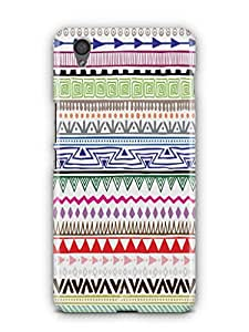 YuBingo Zig Zag Pattern Mobile Case Back Cover for OnePlus X
