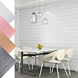 KINLO 10pcs 70 x 70 cm Tapete Selbstklebend 3D Wandaufkleber PVC Verdicht DIY Schaum Wandpaneele Wallpaper für TV Schlafzimmer Wohnzimmer Deko Pink