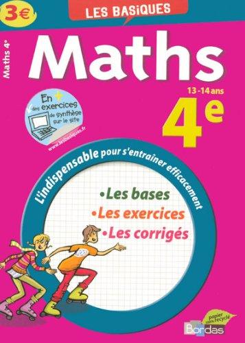 Maths 4e par Jean-Luc Romet