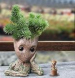 - 51ePF67aYPL - Baby Groot Blumentopf Stiftehalter – Marvel Action-Figur aus Guardians of The Galaxy für Pflanzen & Stifte – Perfekt als Geschenk – I AM Groot