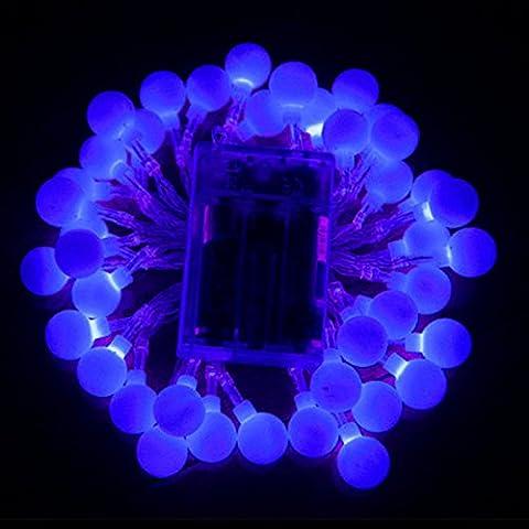 CALISTODE Globe Lichterketten, batteriebetriebene Kristallkugel Lichterketten Starry Lichter Lampen Dekoration f¨¹r Patio Weihnachten Hochzeit Landschaft Rasen (Batteriebetriebene Globe-leuchten)