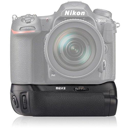 Meike PROFI Batteriegriff Handgriff Akkugriff kompatibel mit Nikon D500 - ersetzt den MB-D17
