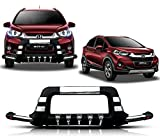 #10: Auto Pearl - Premium Quality Car PU & Stainless Steel Front Crash D-Swag Guard Fiber With Fitting Kit For - Honda WRV