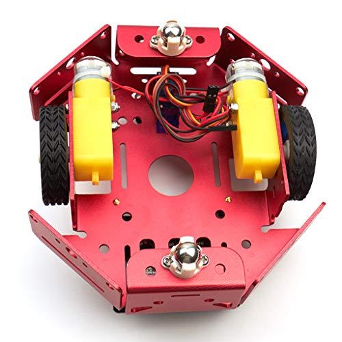D DOLITY 2X 200rpm Treiber Motoren DC 5 V DIY Programmierung und Roboter für BBC Micro: Bit Teens