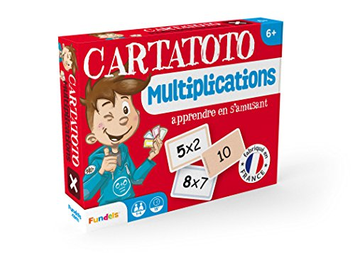 Fundels – Cartatoto Multiplications – Jeu Educatif