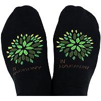 Toe Hablar en armonía Antideslizante Agarre Calcetines para Pilates Barre Yoga Danza Meditación