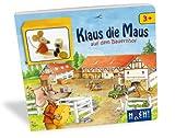 Huch&Friends 877727 - Lernspielbuch - Klaus die Maus auf dem Bauernhof