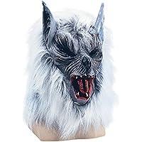 "Bristol Novelty bm183""Killer Wolf Budget Maske, grau, one size"