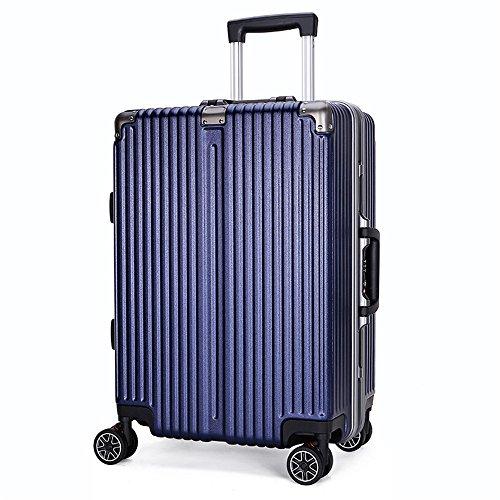 HHS Megan-TB Set di spazzole per WC Valigie per valigie; Trolley da 20 Pollici; Valigetta per Trolley per Bambini; Trolley per Uomo; Trolley per PC + ABS; Scopino Intelligente con Supporto
