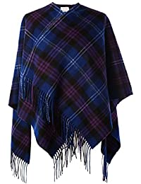 Heritage of Scotland - Poncho - capa - para mujer