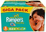 Pampers Baby Dry Windeln Gr.3 Midi 4-9 kg Giga, 168 Stück