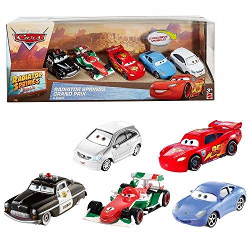 Disney Cars Cast 1:55 - Gift Pack Radiator Springs 5 Fahrzeuge im Set