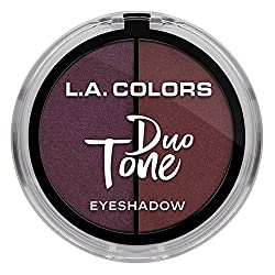L.A. Colors Duo Tone Eyeshadow, Merlot, 4.5g
